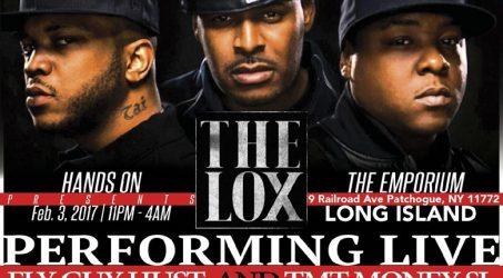 The Lox Live @ The Emporium Friday February 3, 2017