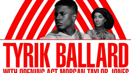 Apollo Music Café Presents Tyrik Ballard With Opening Act Morgan Taylor @ The Apollo Theater Saturday November 18, 2017
