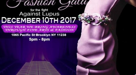 The 2nd Annual Purple Glove Fashion Gala @ The Pacific BK Sunday December 10, 2017