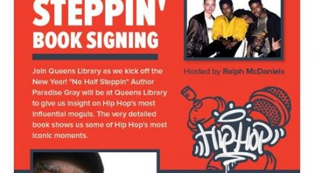 """""""No Half Steppin'"""" Book Signing @ Queens Central Library Thursday January 18, 2018"""