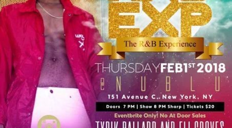 RNB EXP @ NuBlu Thursday February 1, 2018