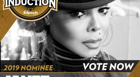 VOTE NOW:Janet Jackson 2019 Rock & Roll Hall Of Fame Nominee