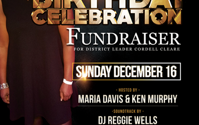 Birthday Celebration Fundraiser For Cordell Cleare @ El San Juan Restaurant Sunday December 16, 2018