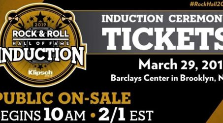 The Rock & Roll Hall Of Fame Induction Ceremony @Barclays Center Friday March 29, 2019
